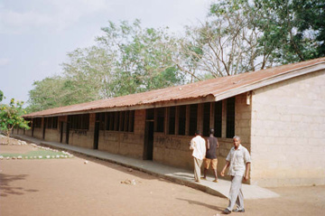 Sampa Mission School block of 24 classrooms in need of renovation.