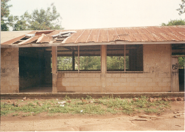 Primary School before renovation.