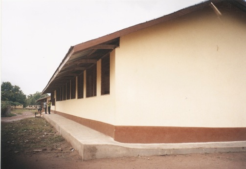 FRONT VIEW OF SAMPA RC JUNIOR HIGH SCHOOL BLOCK A - AFTER RENOVATION