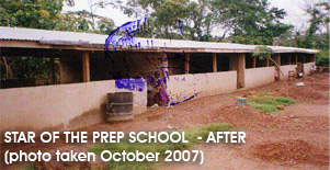 The newly built Star of the Sea school building completed.