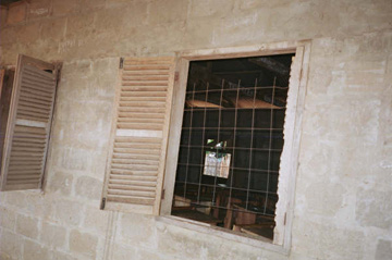 Windows in need of repair (outside)